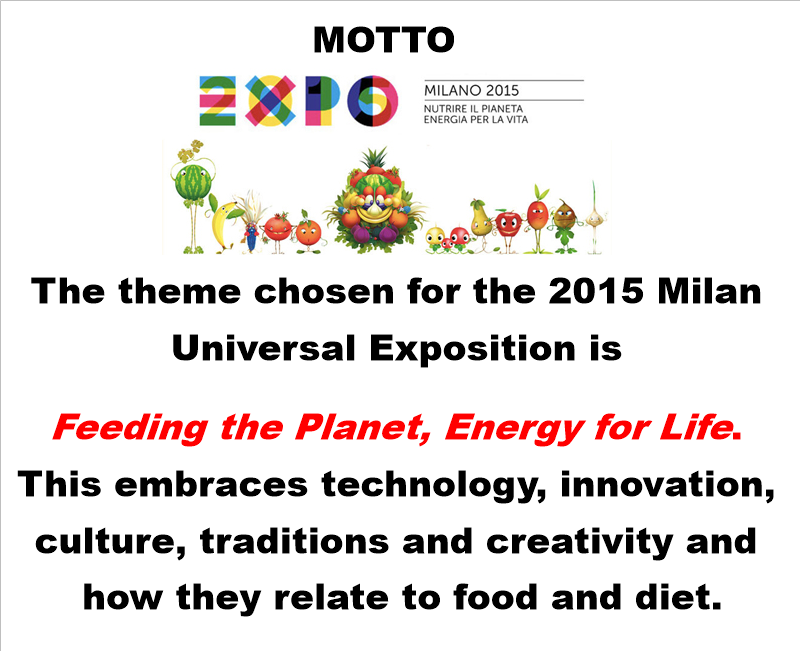 VIRTUAL VISIT TO EXPO MILAN 2015 by Elisabetta - Illustrated by Teacher Betta and her pupils - Ourboox.com