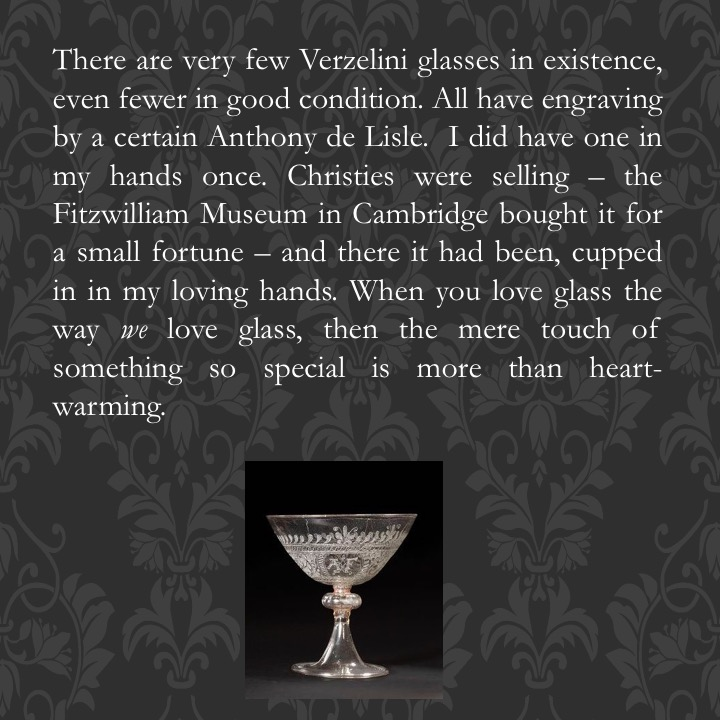 The Glass of my Dreams by Stephen Pohlmann - Illustrated by Images of Verzelini glasses from the international glass collecting community - Ourboox.com