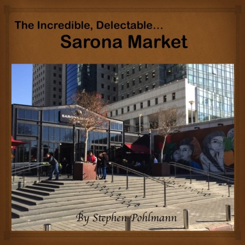 Artwork from the book - The Incredible, Delectable…Sarona Market by Stephen Pohlmann - Illustrated by Stephen Pohlmann - Ourboox.com