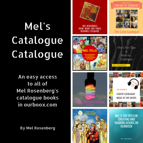 Artwork from the book - Mel's Catalogue Catalogue by Mel Rosenberg - מל רוזנברג - Ourboox.com