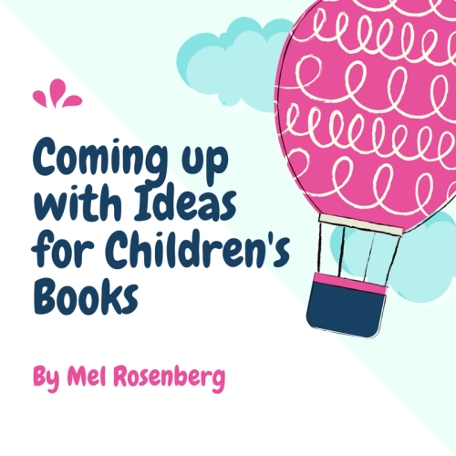 Artwork from the book - Coming up with Ideas for Children's Books by Mel Rosenberg - מל רוזנברג - Ourboox.com