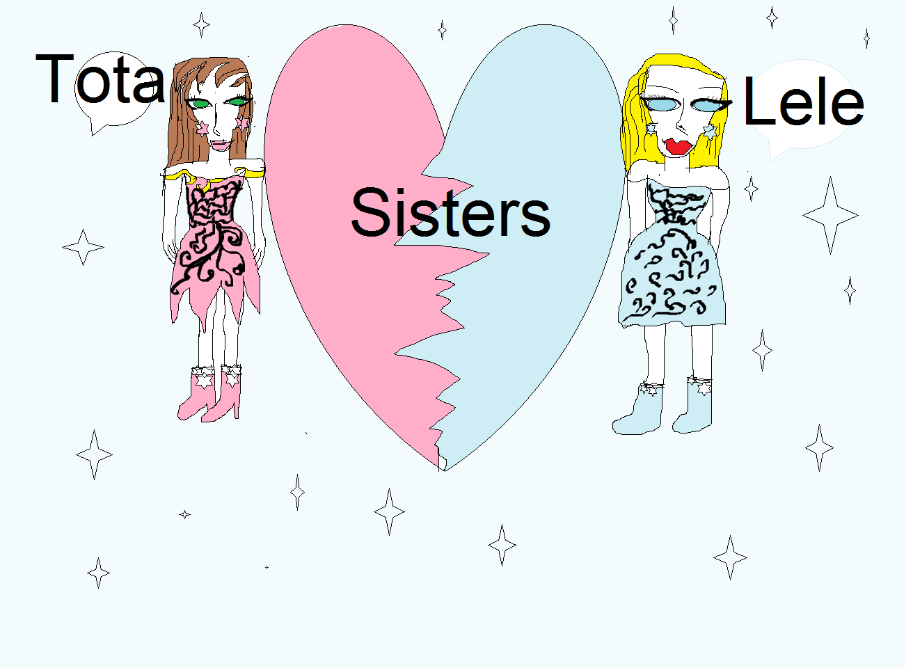 Sisters by shaimaa shbib - Illustrated by shaimaa shubib - Ourboox.com