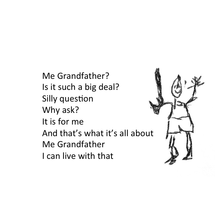 Me Grandfather by Stephen Pohlmann - Illustrated by Stephen Pohlmann - Ourboox.com