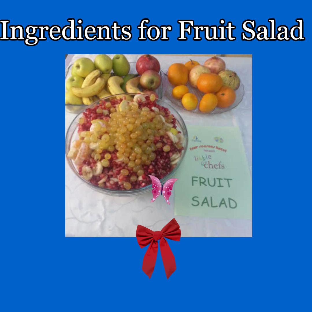 FRUIT SALAD by Neslihan UÇAROĞLU - Ourboox.com
