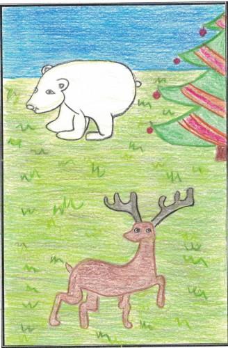 La renna e l'orso polare