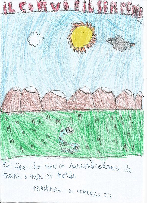 I bambini scoprono le Favole di Esopo by Carmelina Zaccaria - Illustrated by :: Alunni delle classi IIA e IIB PRI-Centro :: I.C. N.1 Capo d'Orlando - A.S. 2016/17 - Ourboox.com