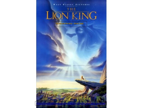 The Lion King (Disney) – Movie Review by Anat Falah - Illustrated by Taken mostly from the net. - Ourboox.com