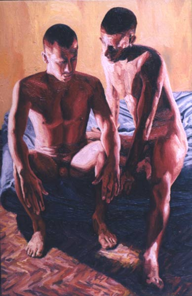 man woman relationship in paintings photos art by raphael perez