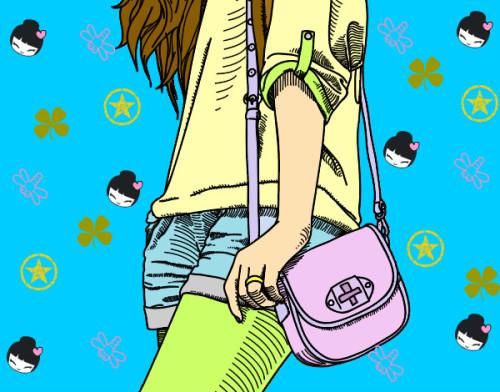 MY FASHION MAGAZINE by giulia - Illustrated by Giulia - Ourboox.com