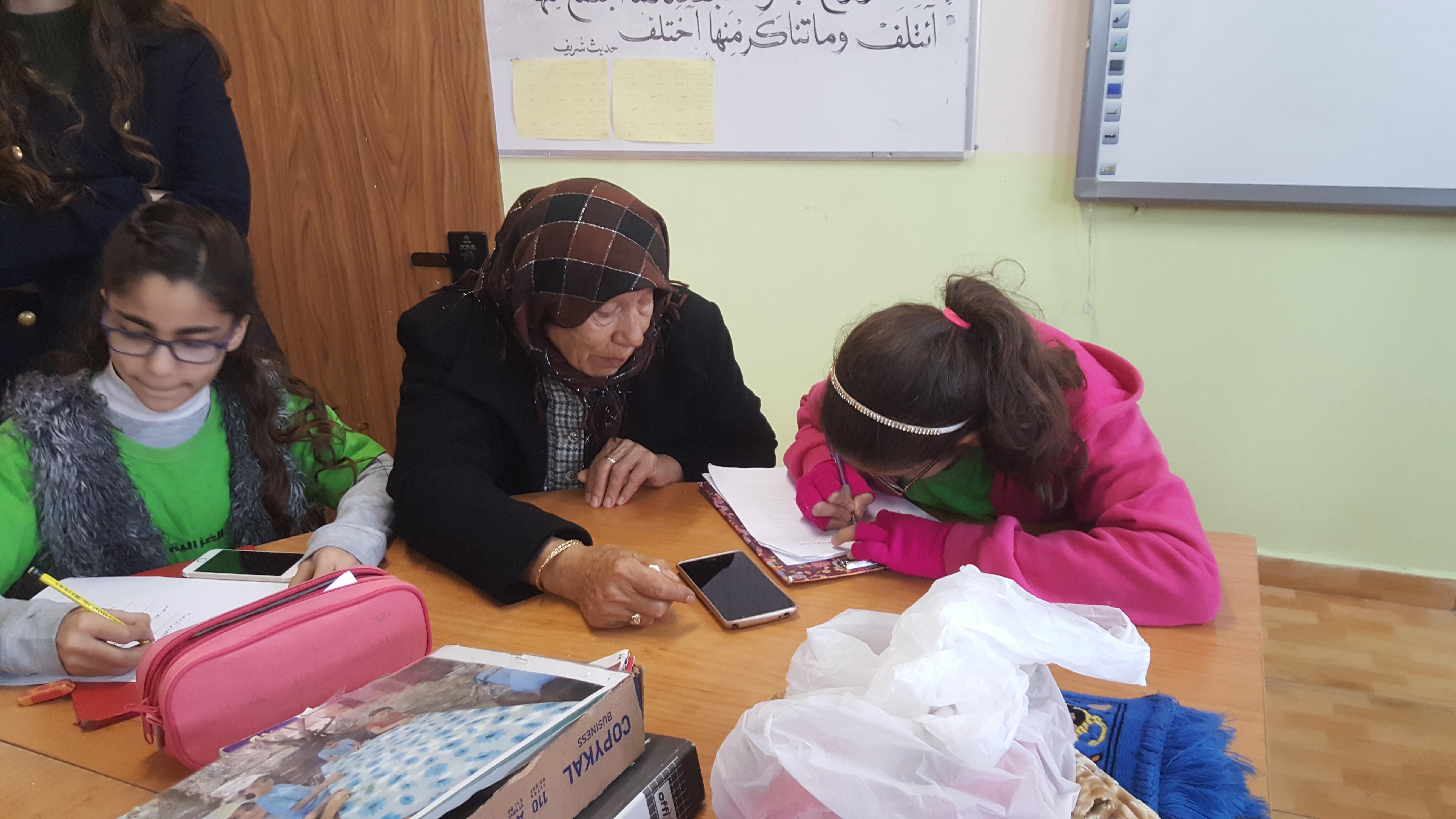 قصة جبيني قصة حكتها الحجة سهام مع الطالبة يارا