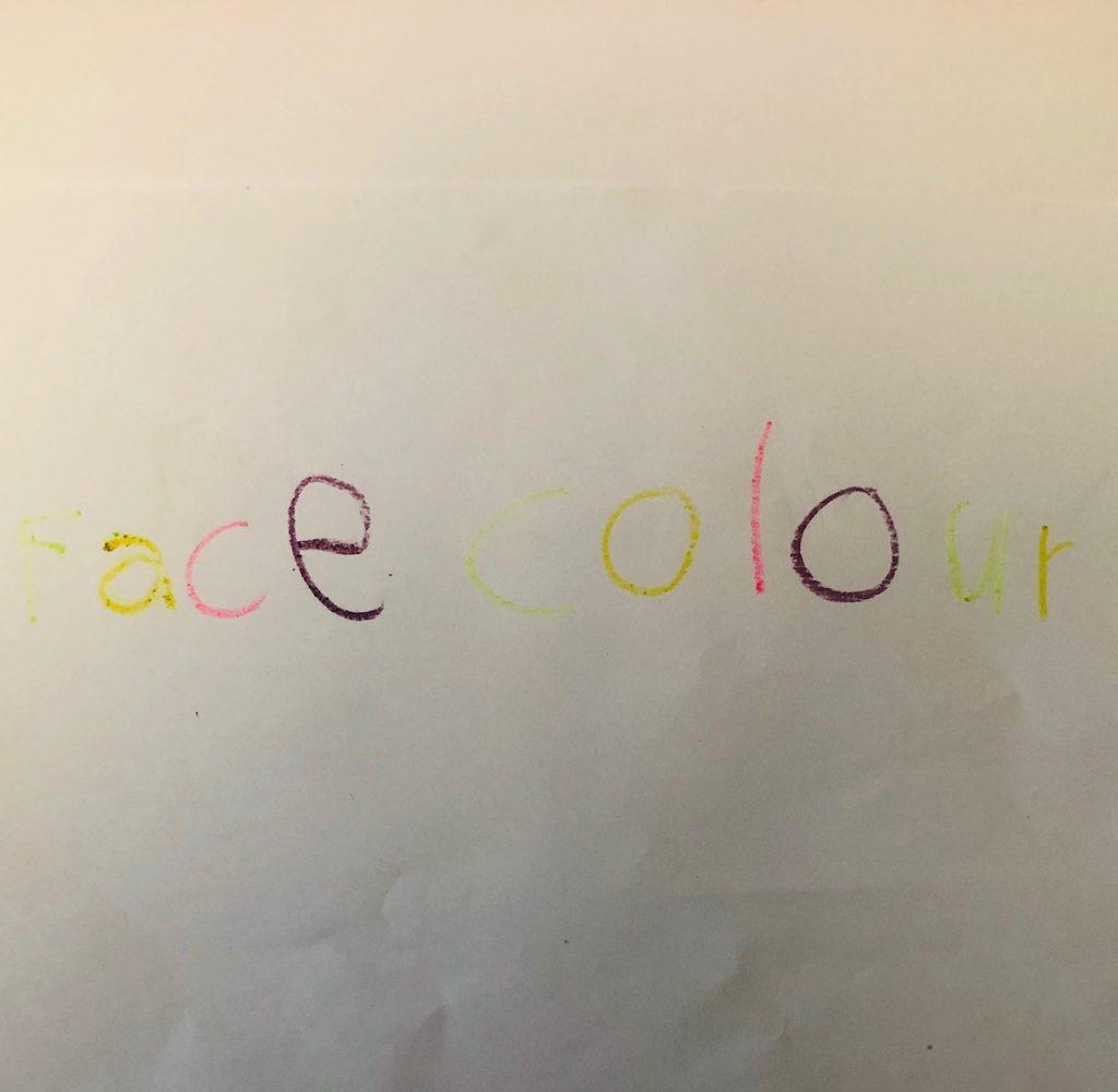 50W – Face Colour by Stephen Pohlmann - Illustrated by Maya Nakdimon-Pohlmann - Ourboox.com
