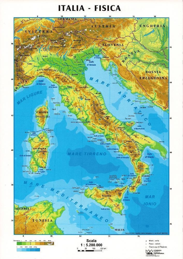 Landform Of Italy Ourboox