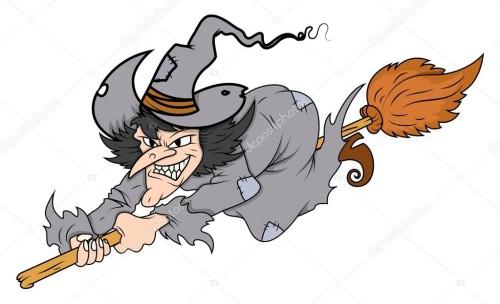 Sospechaba que mi vecina era una bruja, pero descubrí que era una bruja buena by carlota laborda - Illustrated by Carlota - Ourboox.com