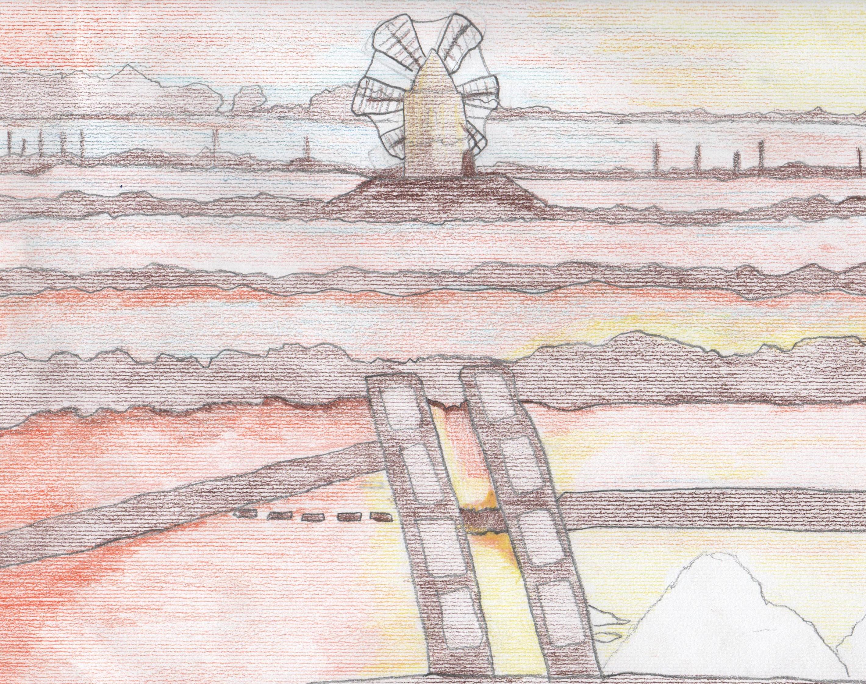 """Artwork from the book - LA MIA TRAPANI by I.C. """"NUNZIO NASI"""" TRAPANI SCUOLA PRIMARIA - Illustrated by  ALUNNI   5^ B         a.s. 2016/2017 - Ourboox.com"""
