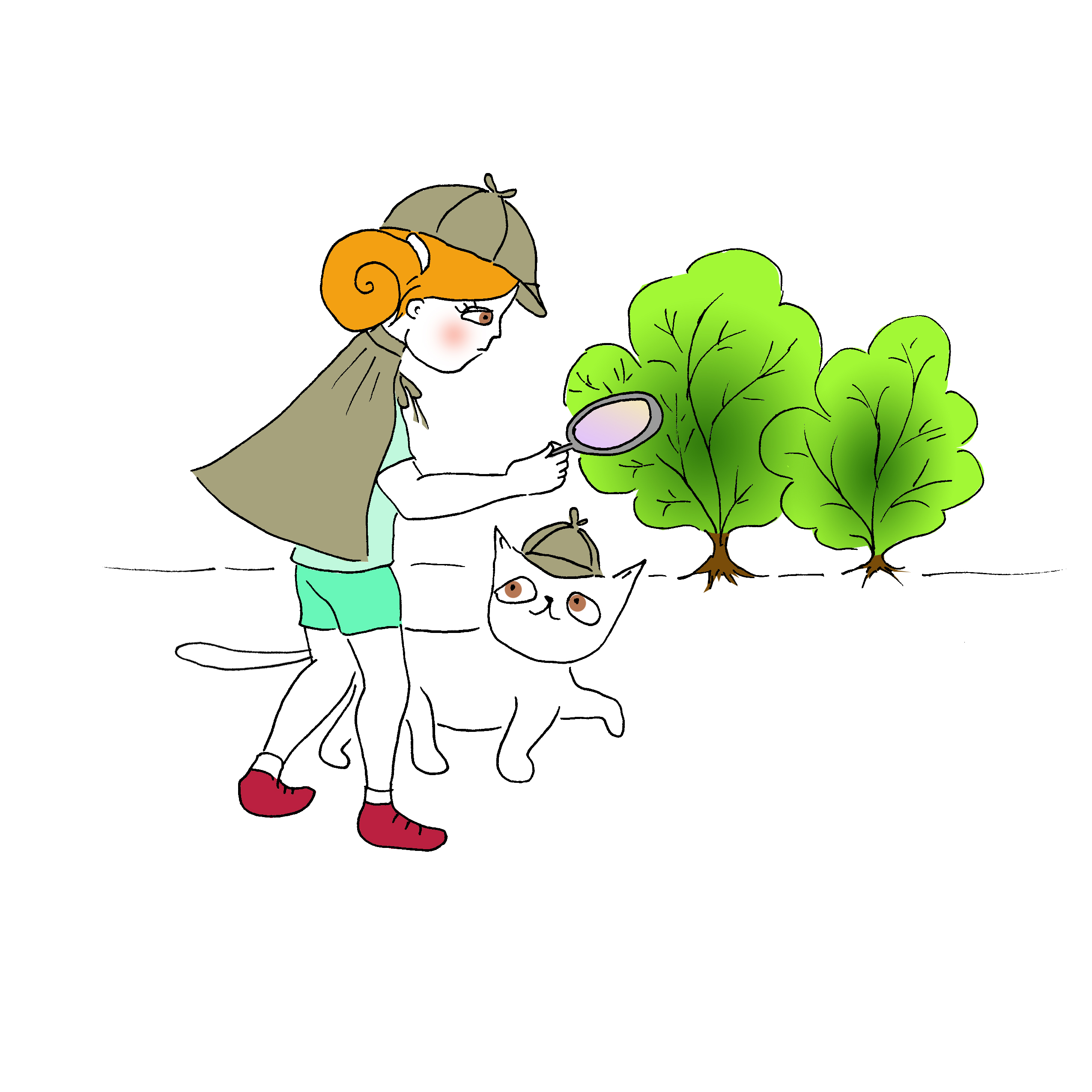 Мими&Китти – 15 – Мими ищет новую подругу by Irena Brodeski - Illustrated by Irena Brodeski - Ourboox.com