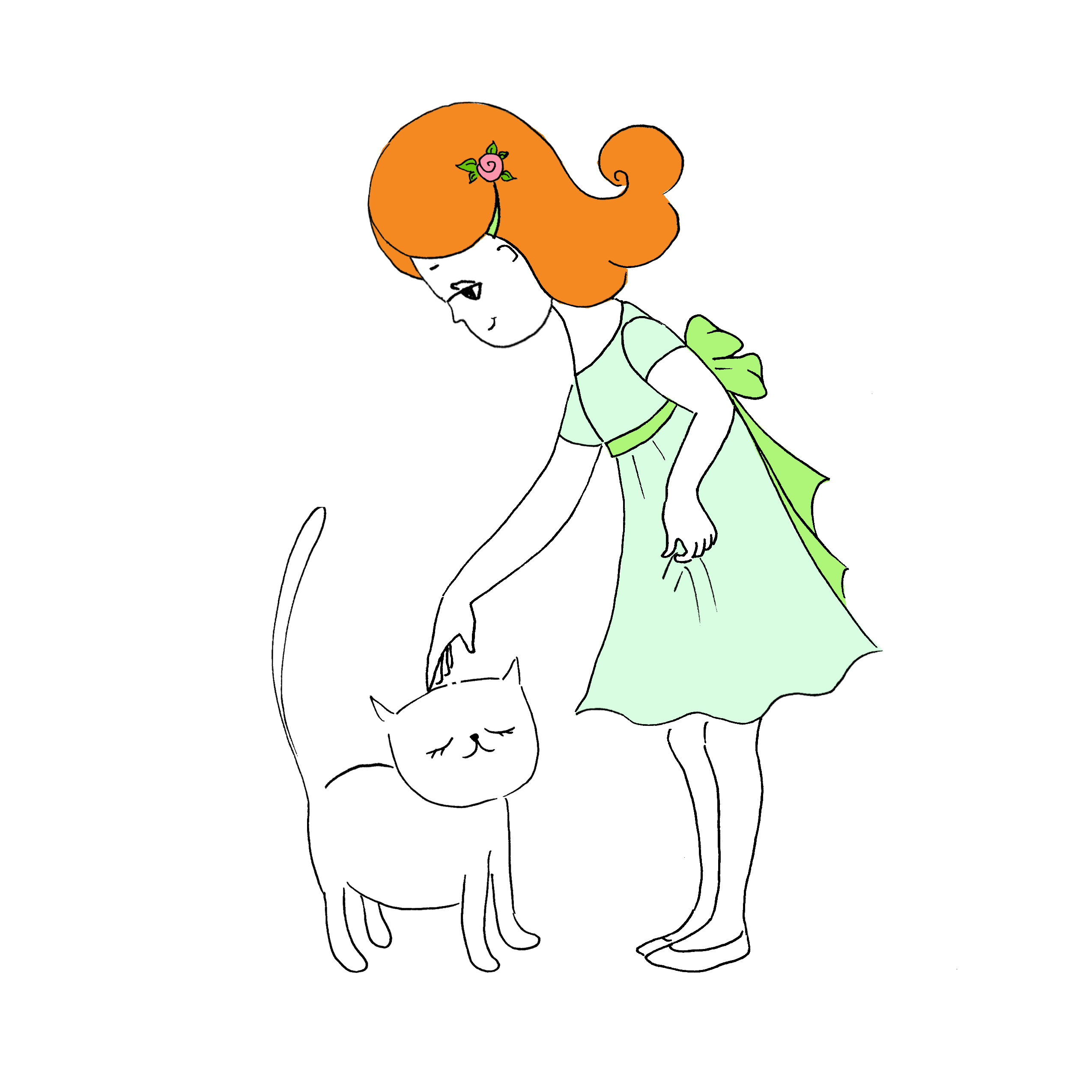 Мими&Китти – 11 – Мими идет на день рождения by Irena Brodeski - Illustrated by Irena Brodeski - Ourboox.com