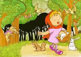 ليلى الحمراء by halaagbarea - Illustrated by رسومات :أيه كبها  كتابه :هاله اغباريه تأليف بيان خلف - Ourboox.com