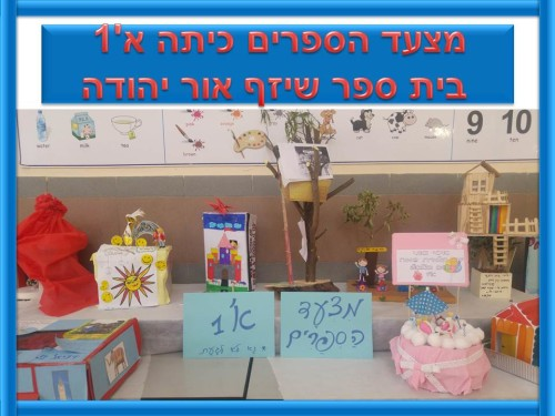 Artwork from the book - מצעד הספרים כיתה א'1 בית ספר שיזף אור יהודה by אילן  - Ourboox.com