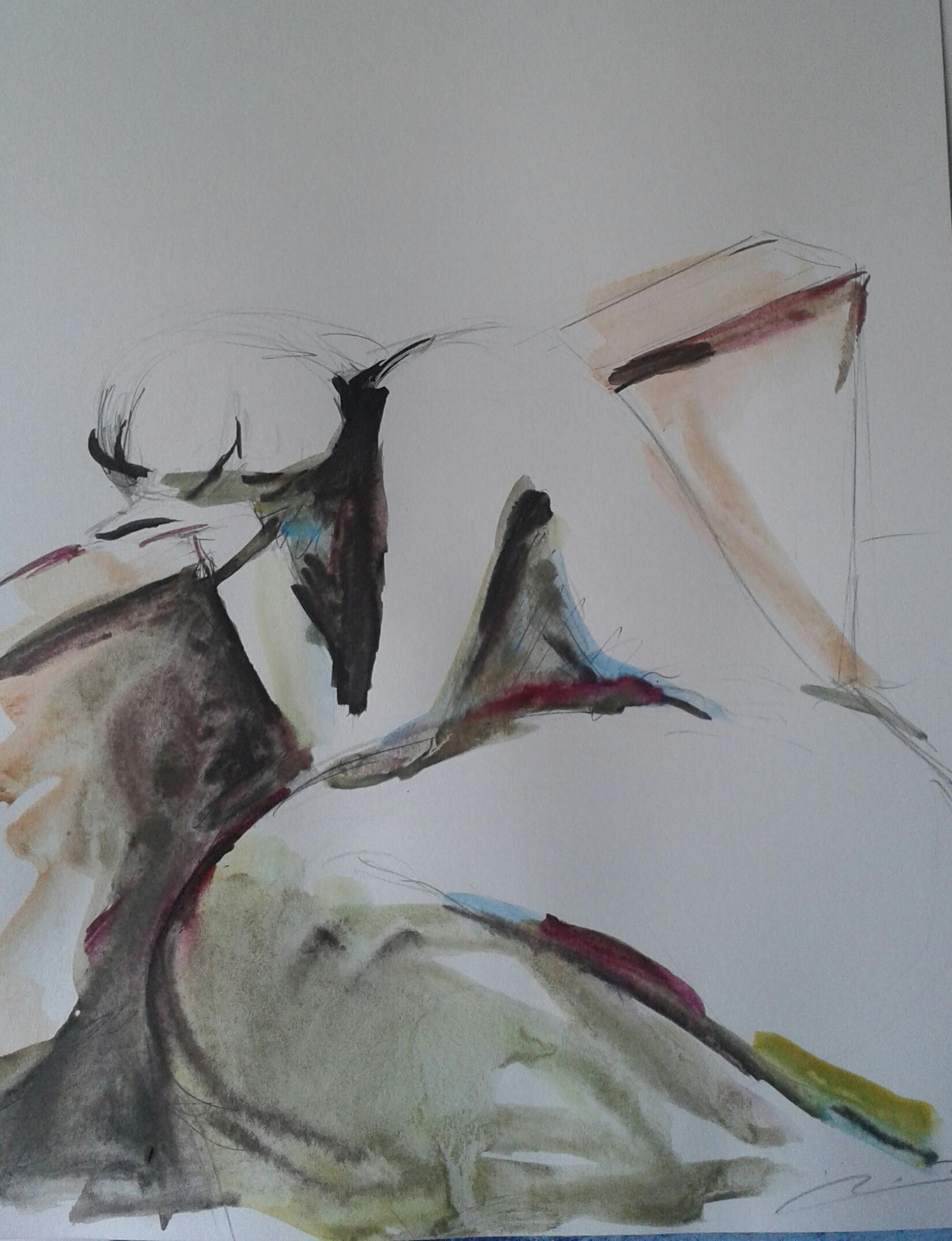 Artwork from the book - צפת – זיכרונות – ציפורה בראבי by tsipi baravi - Illustrated by ציפורה בראבי - Ourboox.com