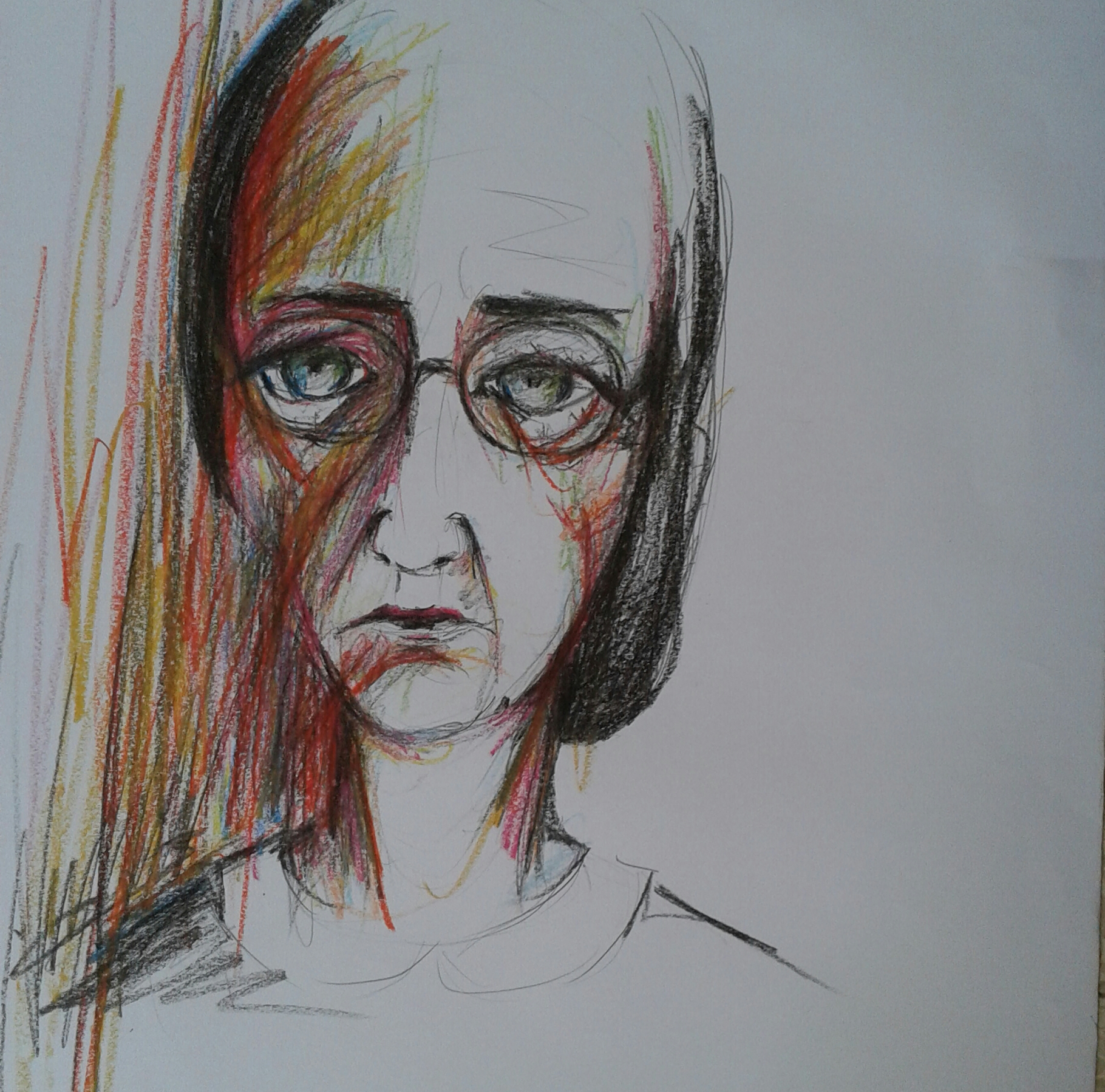Artwork from the book - שירים ורישומים – ציפורה בראבי by tsipi baravi - Illustrated by ציפורה בראבי - Ourboox.com