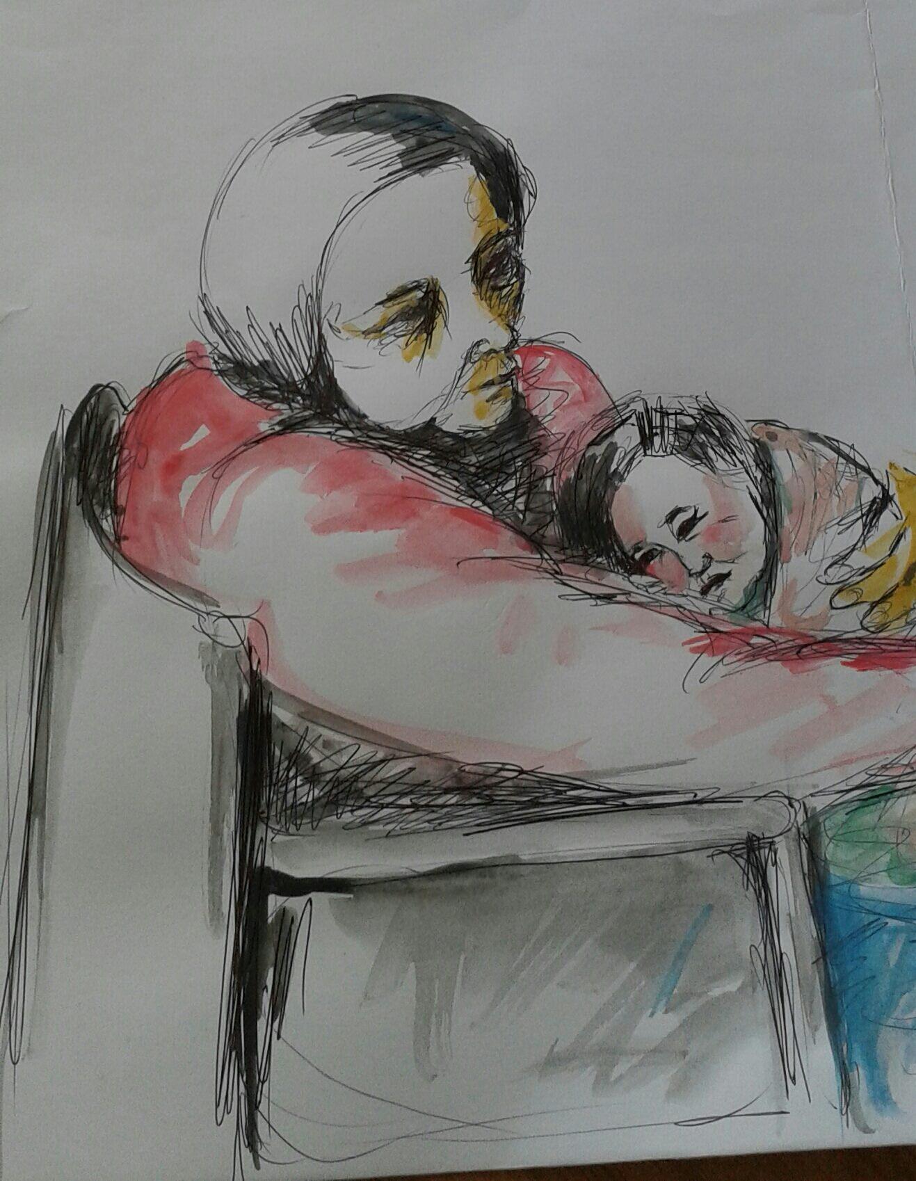 הורי – ציפורה בראבי by tsipi baravi - Illustrated by ציפורה בראבי - Ourboox.com