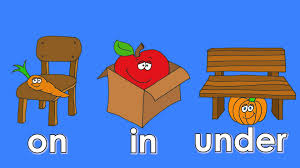 Prepositional of place ( In ,On ,Under ) by Heba - Illustrated by Heba Kraiem - Ourboox.com
