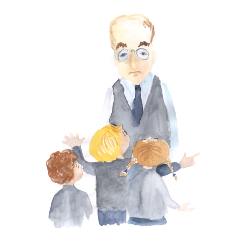 Artwork from the book - The Chocolate Thief – Случай с пропавшим шоколадом – Translated to Russian by Irena Brodeski by Mel Rosenberg - מל רוזנברג - Illustrated by Irena Brodeski - Ourboox.com
