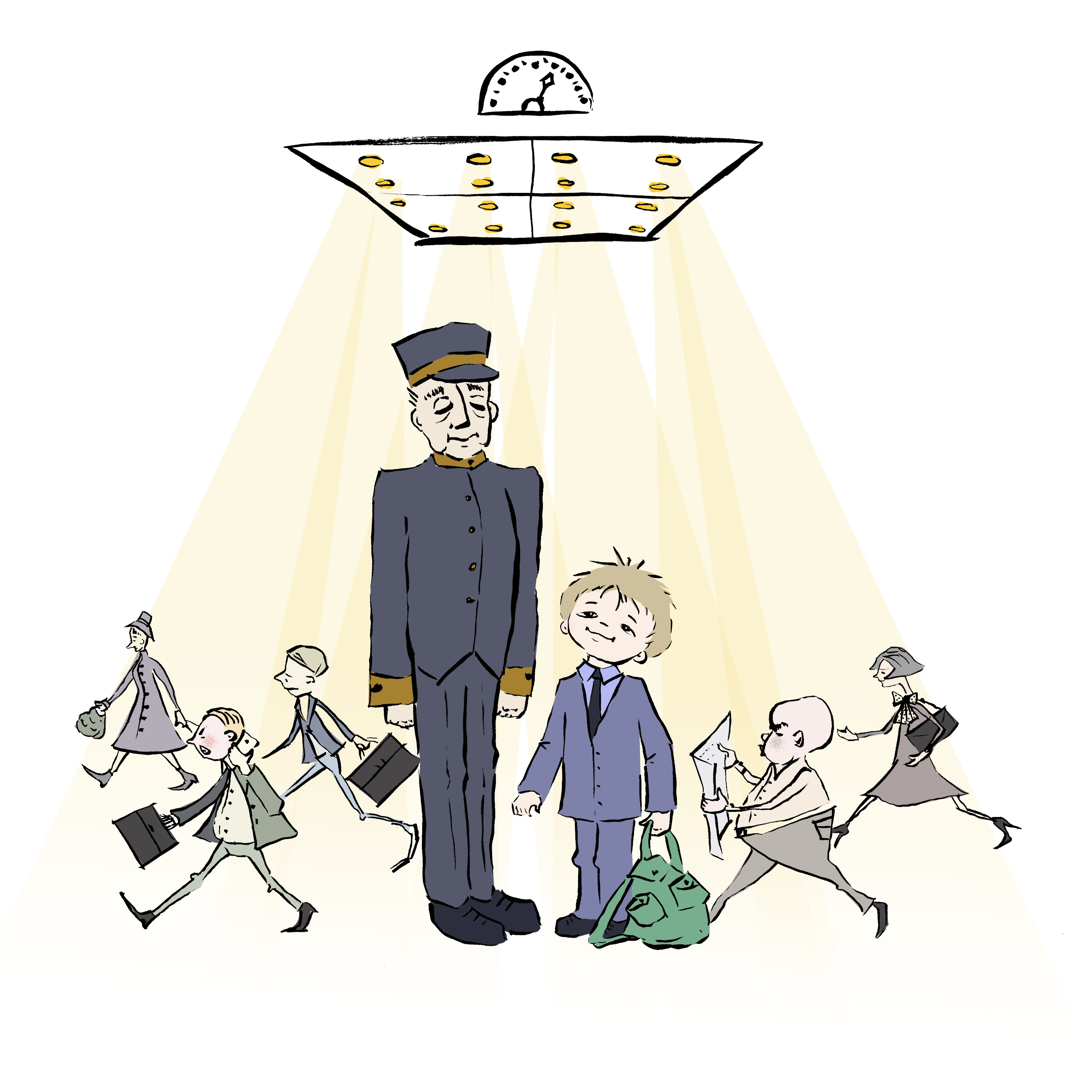 The Elevator and the Banana (Russian Version) – Про лифт и бананы – Illustrated and Translated by Irena Brodeski by Mel Rosenberg - מל רוזנברג - Illustrated by Irena Brodeski - Ourboox.com