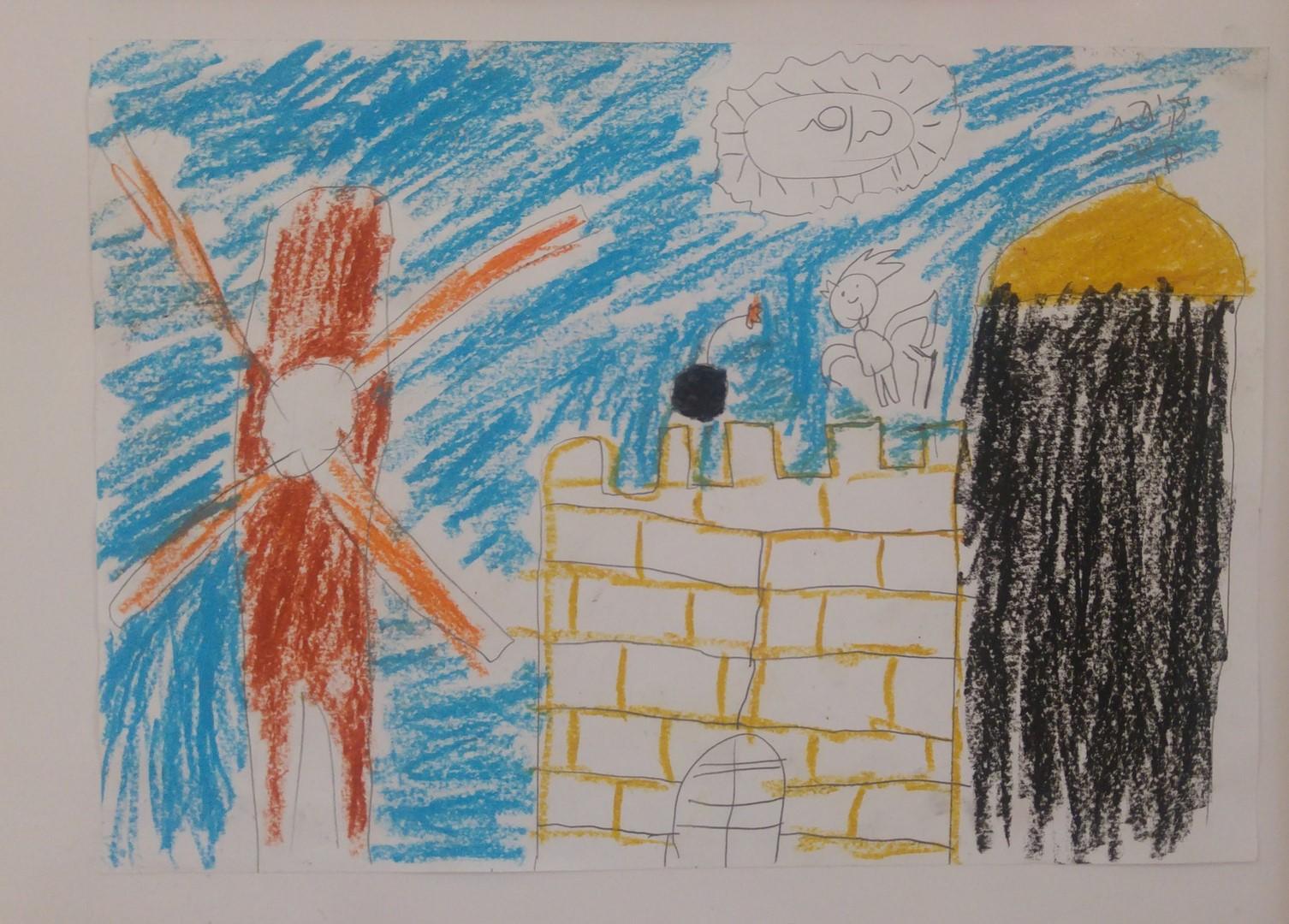 תלמידי שיזף מציירים את נופי ירושלים בהנחיית המורות לאומנות דנית ושולמית by אילן  - Ourboox.com