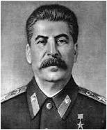 Secretario general del Partido Comunista de la Unión de Repúblicas Soviéticas. Lidera a Rusia durante la Segunda Guerra Mundial