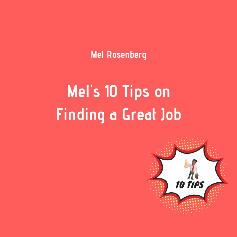Artwork from the book - Mel's Ten Tips on Finding a Great Job by Mel Rosenberg - מל רוזנברג - Ourboox.com