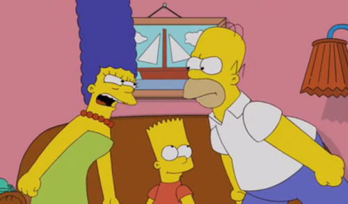 The Simpsons Stories: Marge And Homer's Argument by Darcy May Partridge - Ourboox.com
