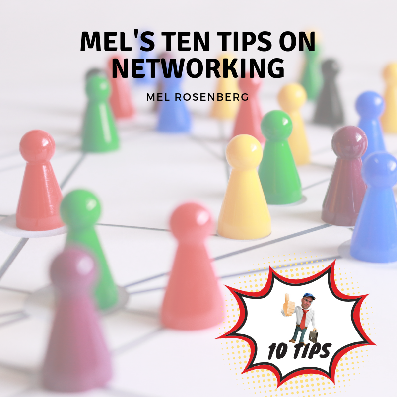 Artwork from the book - Mel's Ten Tips on Networking by Mel Rosenberg - מל רוזנברג - Ourboox.com