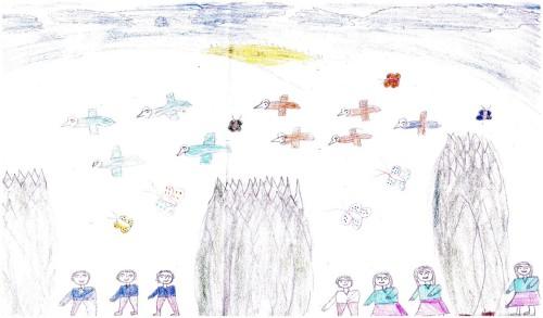 Artwork from the book - Ceylin ve Arkadaşları by erdgn - Illustrated by ERDOĞAN YILDIRIM - Ourboox.com