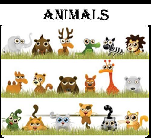 """Artwork from the book - Практичний посібник для вихователів на тему: """"Animals"""" by Антощенко Марія Олексіївна - Illustrated by Практичний посібник допоможе вихователям та батькам старших груп організувати роботу дітей під час вивчення теми """"Animals"""", до якої належать 4 заняття з поданих тем :""""Domestic animals"""",""""Pets"""",""""Wild animals"""",""""Animals at the Zoo"""" та 5-те підсумкове заняття. - Ourboox.com"""