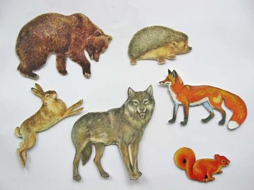 Artwork from the book - Wild animals by merymelnyk  - Illustrated by Ця книжка для дітей дошкільного віку (від 3-5 років) - Ourboox.com