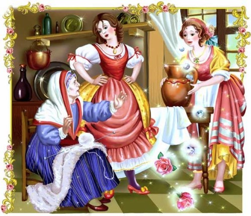 Artwork from the book - Charles Perrault. Contes. by Шумский Юрий Александрович - Illustrated by создаём электронные книги сами - Ourboox.com