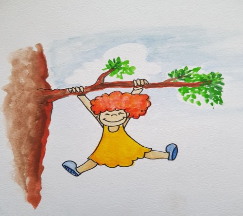 Artwork from the book - שלמה נו-נו by אושרית אל-על הבלק - Illustrated by רונן לוי  - Ourboox.com