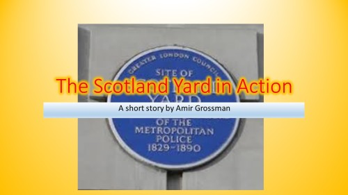 Artwork from the book - The Scotland Yard in Action by Amir Grossman - Ourboox.com