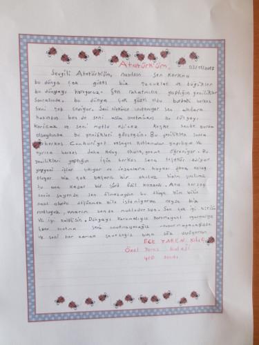 Artwork from the book - O'nun İzinde by Erol Odabaşı - Illustrated by Atatürk'e Mektuplar - Ourboox.com