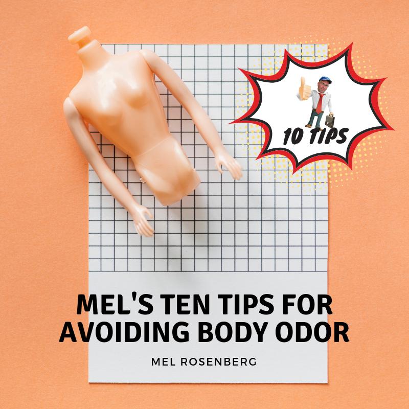 Artwork from the book - Mel's Ten Tips for Avoiding Body Odor by Mel Rosenberg - מל רוזנברג - Ourboox.com