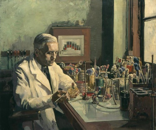 Artwork from the book - How Alexander Fleming Discovered Penicillin by Mel Rosenberg - מל רוזנברג - Ourboox.com
