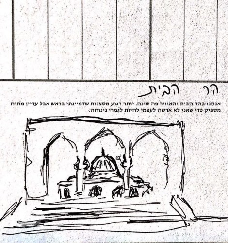 Artwork from the book - ספר סיכום שליש א׳ מחזור כ׳ מכינת מיצר by gal mo - Illustrated by מיצר - Ourboox.com