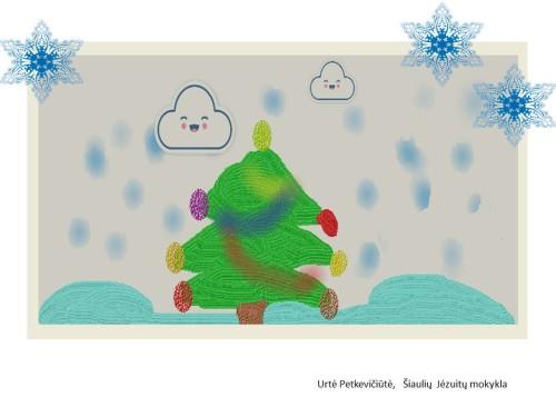 Artwork from the book - Gražių šv. Kalėdų by nija - Ourboox.com