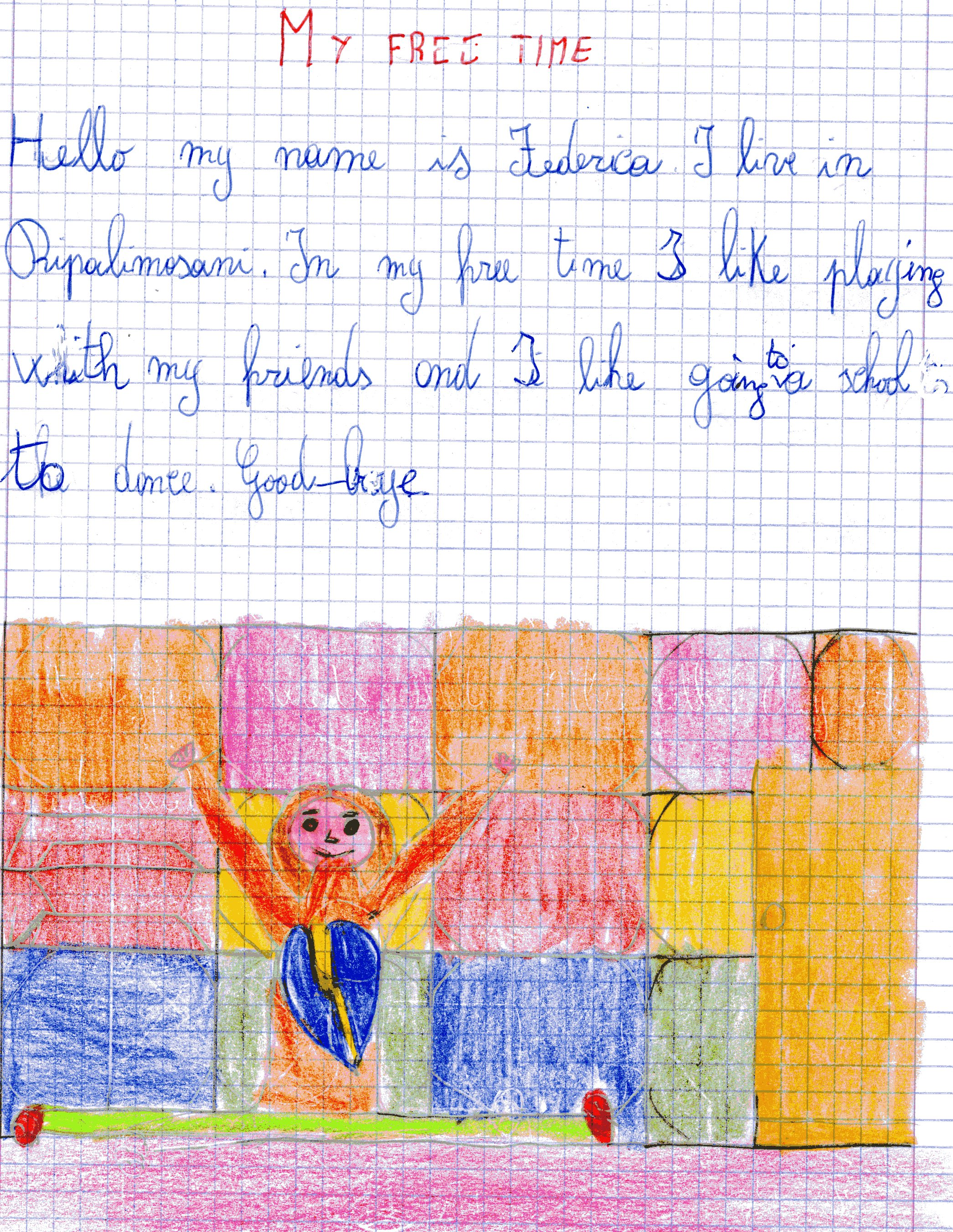 Artwork from the book - FREE TIME IN ITALY AND IN SPAIN by gina tullo - Illustrated by Marinelli Maria Concetta- Eva Garcia - Tullo Gina - Ourboox.com