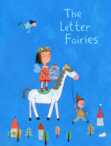 Artwork from the book - The Letter Fairies by Adi Remba Erez - Illustrated by Jenny Meilihove - Ourboox.com