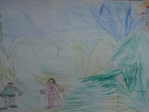 Artwork from the book - Историята на Цифричко и Точица by Stefka - Ourboox.com