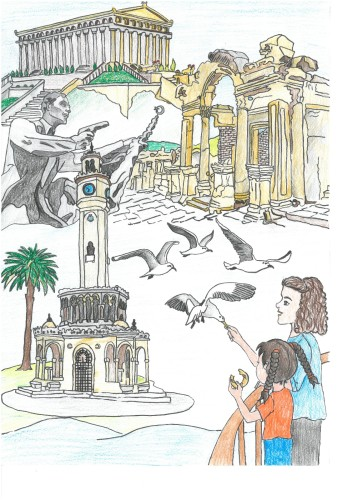Artwork from the book - 81 il bir hikaye by Efsaneler  - Illustrated by Mehtap DEMİR - Ourboox.com