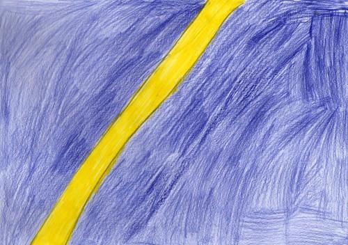 Artwork from the book - L'origine dell'Universo secondo tre punti di vista by gli alunni della III B - Illustrated by IIIB scuola elementare A.Persia - Ourboox.com