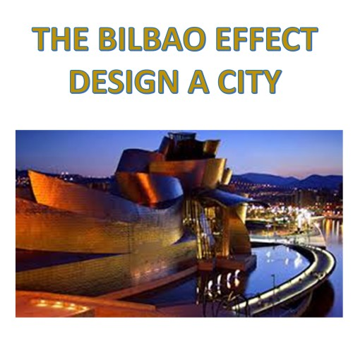 Artwork from the book - THE BILBAO EFFECT- CITY PLANNING by Aviva Taragin - Ourboox.com
